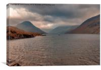 Morning at Wastwater, Canvas Print