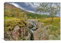 The River Duddon Lake District, Canvas Print