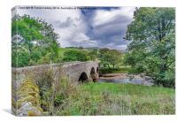 Swaledale Packhorse Bridge, Canvas Print