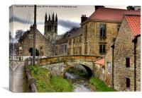 Helmsley Bridge, Canvas Print
