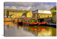 Jack,Rosie & Jim, Canvas Print