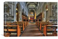 Buckfast Abbey, Canvas Print