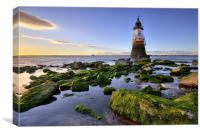 Plover Scar Lighthouse, Canvas Print
