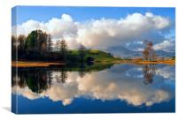 Wise Een Tarn, Cumbria, Canvas Print
