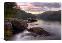 Loch Lomond Dusk, Canvas Print
