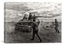 Into Battle, Canvas Print