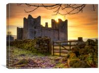 Sunrise At Bolton Castle