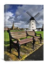 Lytham Windmill, Lancashire., Canvas Print