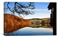 Pooley Bridge Reflections, Canvas Print