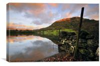 Rydalwater, Canvas Print