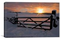 Yorkshire Dales Winter sunrise