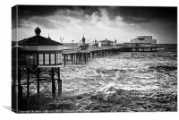 The North Pier, Blackpool, Canvas Print