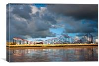 The Big One, Blackpool, Canvas Print