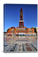 The Blackpool Tower, Canvas Print
