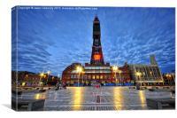 Blackpool Tower, Lancashire, Canvas Print