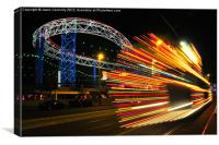 Bright Lights, Big One, Canvas Print