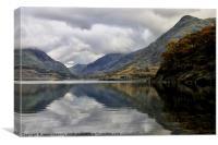 Llyn Peris Reservoir, Canvas Print