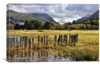 Llanberis Views, Snowdonia., Canvas Print