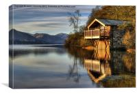 Ullswater Boathouse, Canvas Print