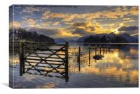 Derwentwater Dreams, Canvas Print