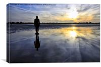 Another Place, Crosby, Canvas Print