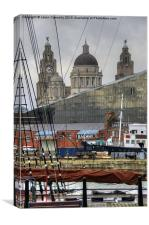 Liverpool, England, Canvas Print