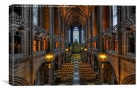 The Lady Chapel, Canvas Print