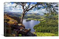 Grasmere Views, Canvas Print