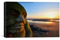 The Cleveleys Ogre, Canvas Print
