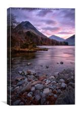 Early On At Wastwater , Canvas Print