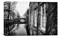 Bruges, Belgium, Canvas Print