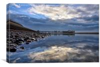 Blackpool Reflections, Canvas Print