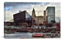 Liverpool, England., Canvas Print