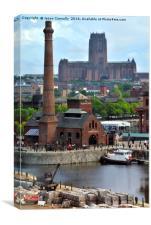 Liverpool Views, Canvas Print