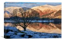Last Light At Grasmere, Canvas Print