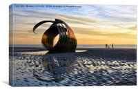 Mary's shell, Cleveleys., Canvas Print