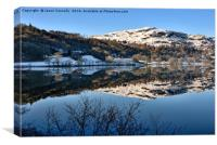 Grasmere, Cumbria., Canvas Print