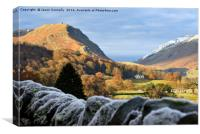 Towards The Vale Of Grasmere, Canvas Print