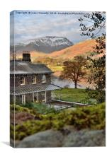 Views over Grasmere, Canvas Print