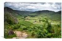 Great Langdale Valley, Canvas Print