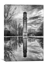 Stanley Park Clocktower, Canvas Print