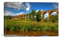 The Avon Viaduct, Canvas Print