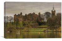 Linlithgow Loch View, Canvas Print
