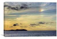 Rainbow Cloud, Canvas Print