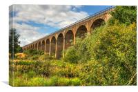 Viaduct over the Avon Valley, Canvas Print