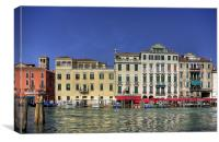 Across the Grand Canal, Canvas Print