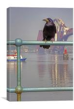 Something to crow about, Canvas Print