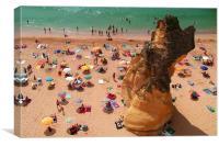 Praia do Túnel, Canvas Print