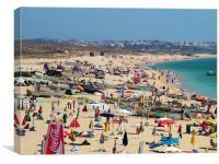 Praia dos Pescadores, Canvas Print