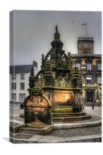 Linlithgow Cross Well, Canvas Print